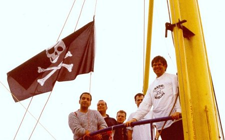 Flying the Jolly Roger (2)